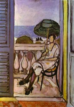 Henri Matisse - Woman with Umbrella
