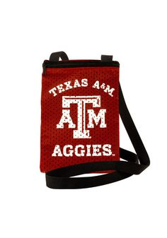 29a629cda8ca9c Texas A&M Aggies Game Day Pouch Womens Purse, Maroon, POLYESTER