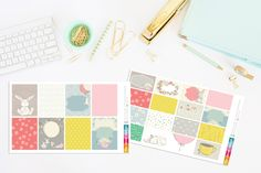 BunBun Happy Days Planner Stickers by TheCleverDesign on Etsy