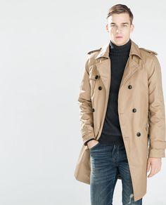 Image 3 of OVERSIZED TRENCH COAT from Zara