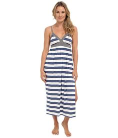 Splendid Splendid  Essential Maxi Nightgown Chambray Rugby Womens Pajama for 35.99 at Im in!