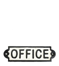 Office Sign – BROOKFARM GENERALSTORE