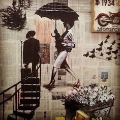 Inma Gregori (marzo2015) mural hecho para Tulacatula Paseo.Tienda de decoración y regalos en Gandía (Valencia) Foto - Google Fotos