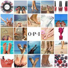 Este verano practica el #piestureo con OPI!! <3