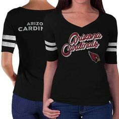 ff60adca887 47 Brand Arizona Cardinals Flanker Black Stripe T-Shirt 1517092 New Orleans  Saints, Cardinals