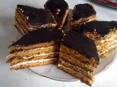 Bird's milk – Famous Georgian layer cake