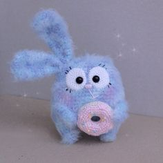bunny amigurumi pattern crocheting