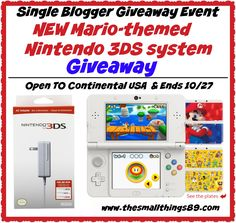 Check Out The Super Mario 3D Land Edition New Nintendo 3DS & Great Deals Under $20 from Nintendo! ~ The Small Things