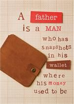 Father's Day card.....how true!