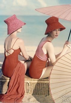 bathing beauties vintage vogue
