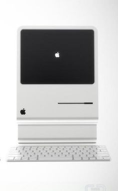 Love this retro iMac design.