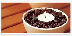 DIY Coffee Candles - These Let Out A Heavenly Scent & Look Great! #Home #Garden #Trusper #Tip