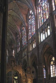 Nave central.Catedral de León