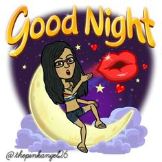 Good night! ❤☔ #Bitstrip #Bitmoji #funny #comic #meme #happy #lol #cute #me #summer #goodnight #sweetdreams