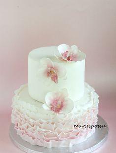 Marsispossu: Synttärikakku orkideoilla, Orchid cake