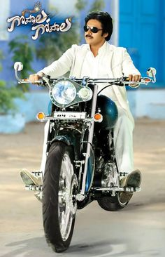 The GOD is Here!! #GopalaGopala via @Suresh Productions