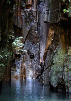 Falls of Anjofo, Isalo, Madagascar