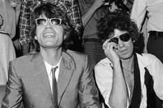 Mick Jagger & Keith Richards - 1980