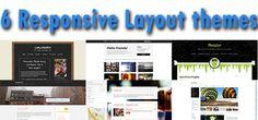 6 temi per WordPress gratuiti e con responsive layout - 6 free responsive WordPress Themes