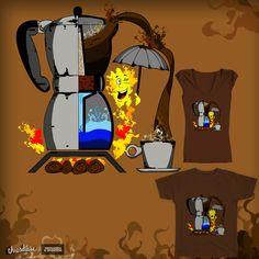 coffee maker on Threadless