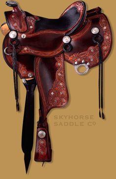 Pro-Rodeo Hall of Fame Bullet Saddle #saddles