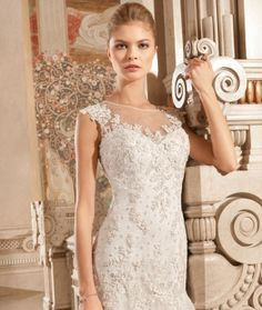 Demetrios 2015 Preview Style GR263 by Demetrios available now at Macy's Bridal Salon in Chicago #macysbridalsalon #chicago #demetrios