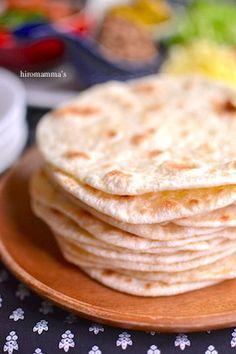 手作りトルティーヤ Crepe Pan, Biscuits, India Food, Chapati, Japanese Food, Pain, Deli, Scones, Bread Recipes