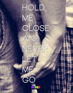 Never let me go.....