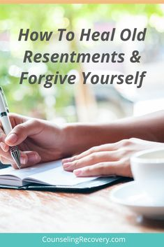Relationships hurt when we can't let go of our resentments. In these worksheets you will learn how to heal old resentments and change old behavior patterns. Positive change starts with you. This guide also outlines how to make meaningful amends to yourself and others. Mental health is key and healing old hurts makes that easier to maintain. #resentments #hurt #relationships #amends #forgiveness