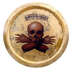 """Memento Mori: """"Remember you will die."""" It's not morbid (I think); just a nudge to make every minute count, doing whatever gives you joy. Crane, Memento Mori Art, Renaissance, Gold Leaf Art, Momento Mori, Very Scary, Art Deco Diamond, Diamond Brooch, Weird And Wonderful"""