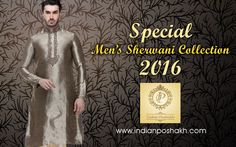 Special arrivals. #Sherwani, #Kurta, #Indowestern, #Shortkurta,#Cottonkurta http://www.indianposhakh.com