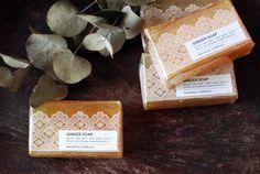 delicate soap packaging