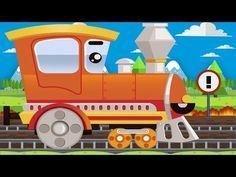 Trenes y Autos - Coches inteligentes & Trenes infantiles - Carritos para niños - Dibujos animados - YouTube