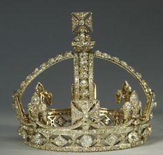 Royal Coronations Message Board: Queen Victoria's small diamond crown