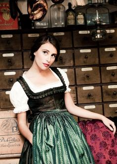 These glorious photos of Lena Hoschek's  2010 Dirndl collection pretty much speak for themselves! Lena is constantly bringing us eye ...