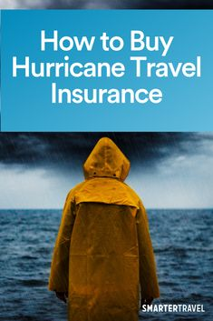 Booking a Caribbean vacation during hurricane season is always something of a gamble, which is why hurricane travel insurance might be a good idea. Boston Travel Guide, Travel Must Haves, Caribbean Vacations, His Travel, Travel News, Storms, Seaside, Tourism, Zero