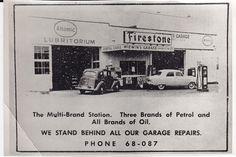 Heres an old New Brighton land mark- McEwans Garage, later H.T Tregurtha's garage, and now Storer Motors. Mr Tregurtha always fixed my Morris 8. New Brighton, Christchurch, New Zealand