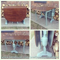 """""""#ascp #anniesloan #anniesloanchalkpaint #chalkpaint #distressed #duckeggblue #dropleaftable #distressedfurniture #etsy #forsale #handpainted #instahome #loveit #morethanpaint #paintedfurniture #prettyuniquefurniture #queenannelegs #rustic #refurbished #shabbychic #upcycled #vintage"""" Photo taken by @prettyuniquefurniture on Instagram, pinned via the InstaPin iOS App! http://www.instapinapp.com (06/11/2015)"""