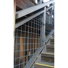 4x4 Mesh Stair/Fence Panels by Wild Hog Railing - DecksDirect.com