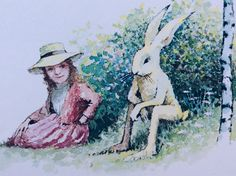MR. RABBIT and the LOVELY PRESENT Maurice Sendak, Bridge, Rabbit, Presents, Painting, Art, Bunny, Gifts, Art Background