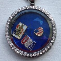 Build yours at www.charmingincentives.com  This one only $20!  #floatingcharmlocket Thirty One, One And Only