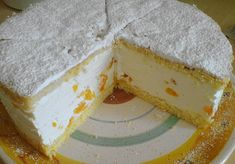 Zutaten   6  Ei(er)  180 g  Zucker  100 g  Mehl  100 g  Speisestärke  750 g  Quark  4 Becher  Sahne  3 Pck.  Vanillezucker    Zuc...