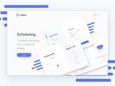 Cubert Hero Website Concept