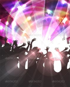 Disco Background  #GraphicRiver         Disco Background     Created: 27May13 GraphicsFilesIncluded: PhotoshopPSD #JPGImage #VectorEPS Layered: No MinimumAdobeCSVersion: CS2 Tags: background #blazing #boys #bright #clip #club #concert #dance #dancer #disco #discotheque #friends #funky #girl #group #hand #lights #luminous #music #neon #party #people #person #rap #rays #red #rock #silhouette #star #teens