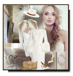 """White elegance"" by barbara-gennari ❤ liked on Polyvore featuring Miss Selfridge, Roksanda, Christian Louboutin, Burberry and Edit"