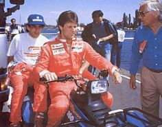 Ayrton Senna e Michael Andretti na McLaren 1993