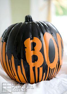 Halloween-faux-painted-pumpkin-craft