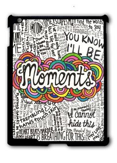 One Direction Moments Lyric Ipad Case, Available For Ipad 2, Ipad 3, Ipad 4 , Ipad Mini And Ipad Air
