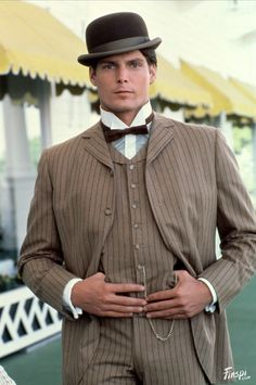"""Christopher Reeve in """"Somewhere in Time"""" (1980)"""