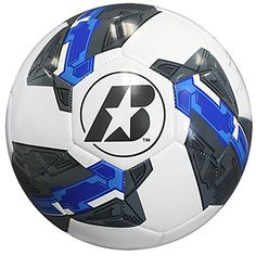Z-series Cushioned Youth Soccer Ball (Blue/white, Size 5) Baden